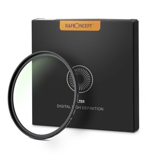 K&F XU05 43mm UV Filter  18-Layer Multi Coated Nanotech Coatings