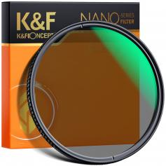 K&F XC15 72mm CPL Filter 18 Layer Super Slim Multi Coated