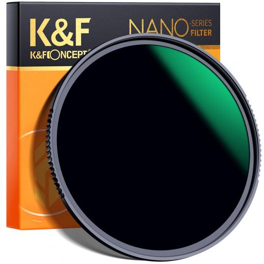 K&F XN25 37mm ND1000 Filter 10 Stop Multi-Resistant Nano Coating