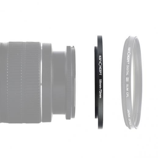 Anel de intensificação de 58 mm a 72 mm
