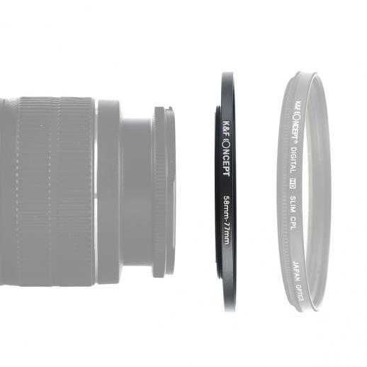 Anel de intensificação de 58 mm a 77 mm