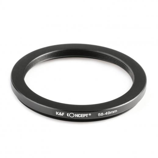 58mm to 49mm Step Down Ring