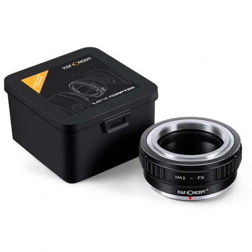 M42 Lenses to Fuji X Mount Camera Adapter