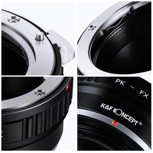 Pentax K Lenses to Fuji X Mount Camera Adapter