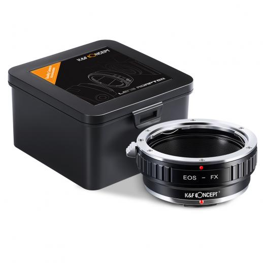 Canon EF Lenses to Fuji X Mount Camera Adapter
