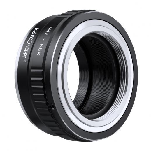 M42 Lenses to Sony NEX E Mount Camera Adapter