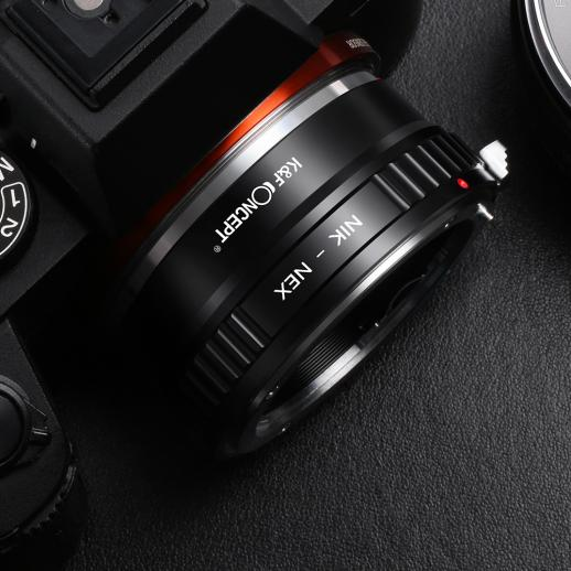 Nikon AI Lenses to Sony E Mount Camera Adapter