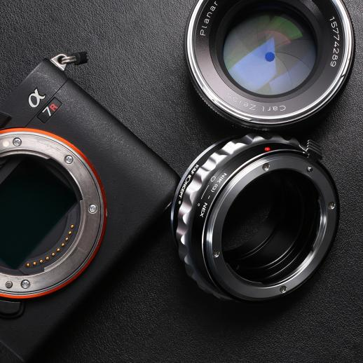 Nikon G/F/AI/AIS/D Lenses to Sony E Mount Camera Adapter