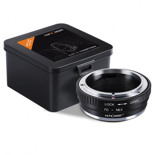 Canon FD Lenses to Sony E Mount Camera Adapter