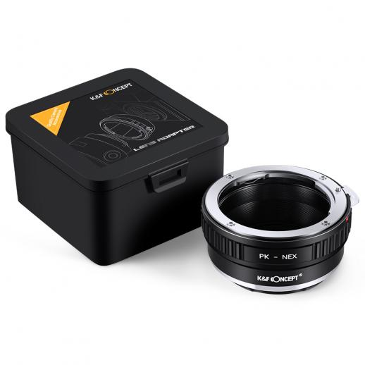 Pentax K Lenses to Sony NEX E Mount Camera Adapter