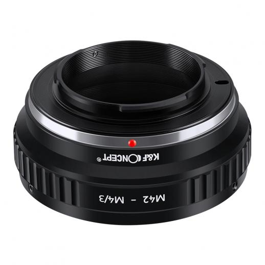 M42 Lenses to M43 MFT Mount Camera Adapter