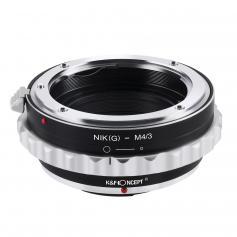K&F M18121 Nikon G/F/AI/AIS/D Lenses to M43 MFT Lens Mount Adapter
