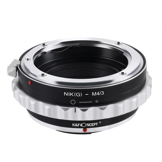 Nikon G/F/AI/AIS/D Lenses to M43 MFT Mount Camera Adapter