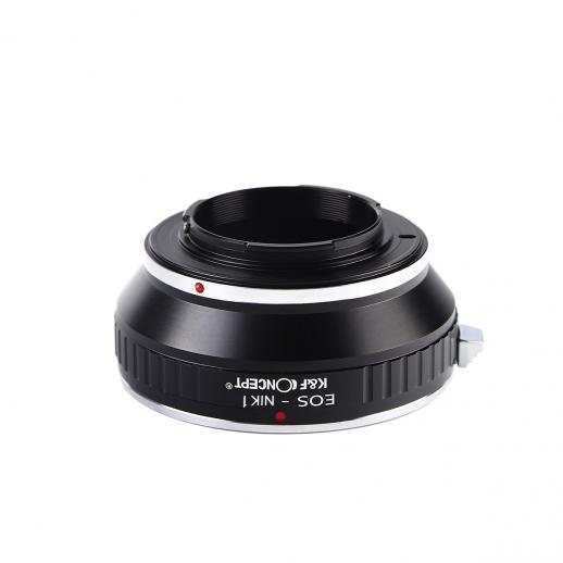 Canon EF Lenses to Nikon 1 Mount Camera Adapter