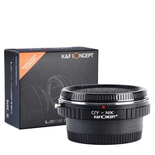 Contax Yashica Lentes para Nikon Câmera Adaptador