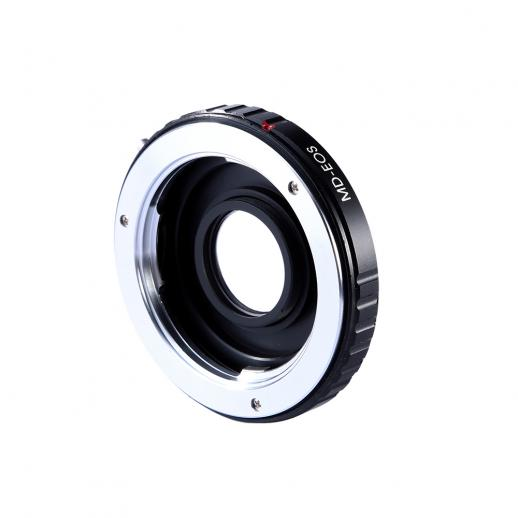 Minolta MD MC Lenses to Canon EF Mount Camera Adapter with Optic Glass
