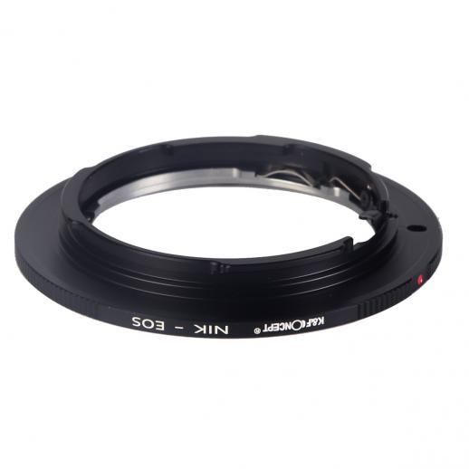 Nikon F Lenses to Canon EF Mount Camera Adapter