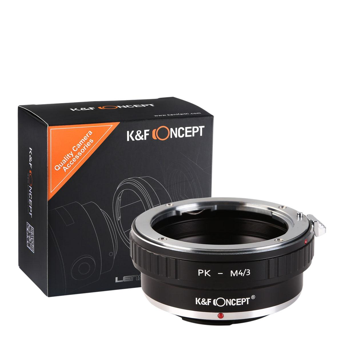 K&F M17121 Pentax K Lenses to M43 MFT Lens Mount Adapter