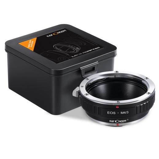 Canon EOS EF Lenses to Micro Four Thirds (M4/3) Camera Mount Adapter
