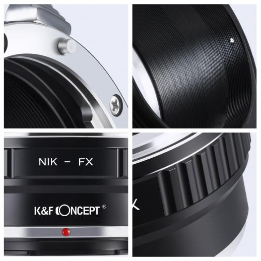 Nikon AI Lenses to Fuji X Mount Camera Adapter
