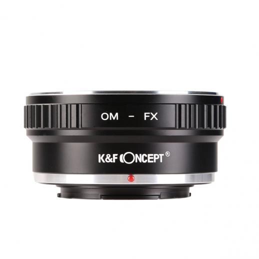 Olympus OM Lenses to Fuji X Mount Camera Adapter