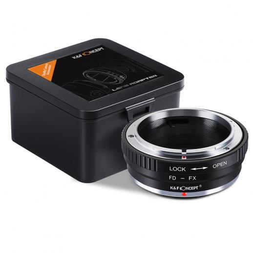 Canon FD Lenses to Fuji X Mount Camera Adapter