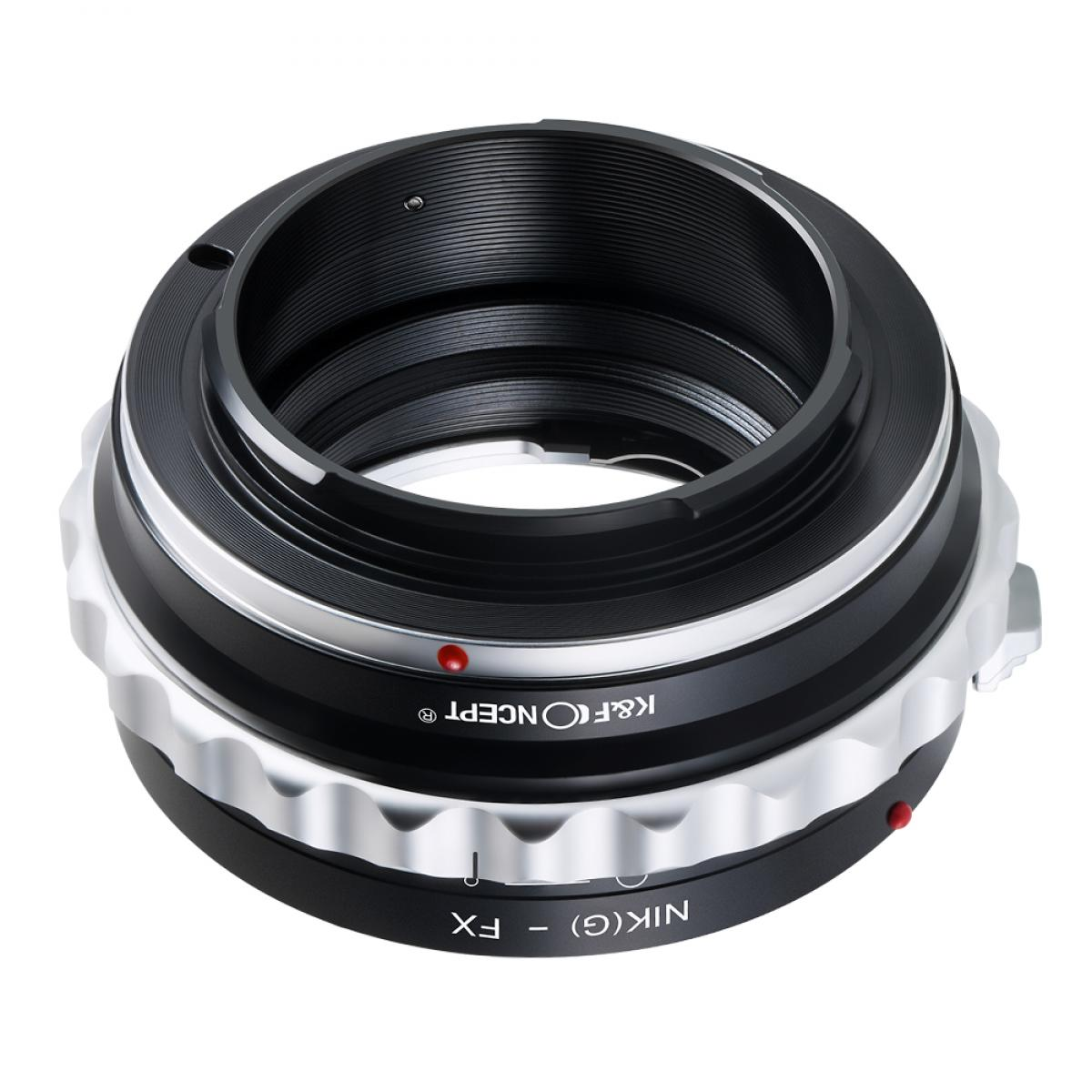 K&F M18111 Nikon G/F/AI/AIS/D Lenses to Fuji X Lens Mount Adapter