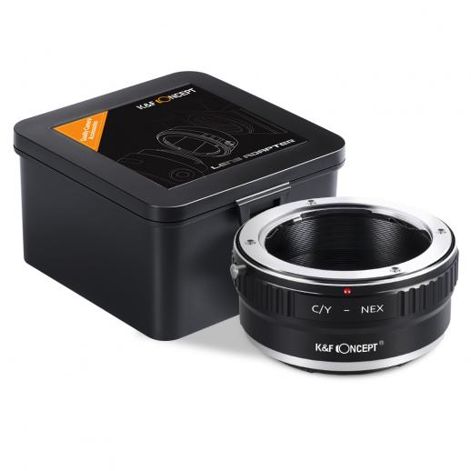Contax Yashica Lenses to Sony E Mount Camera Adapter