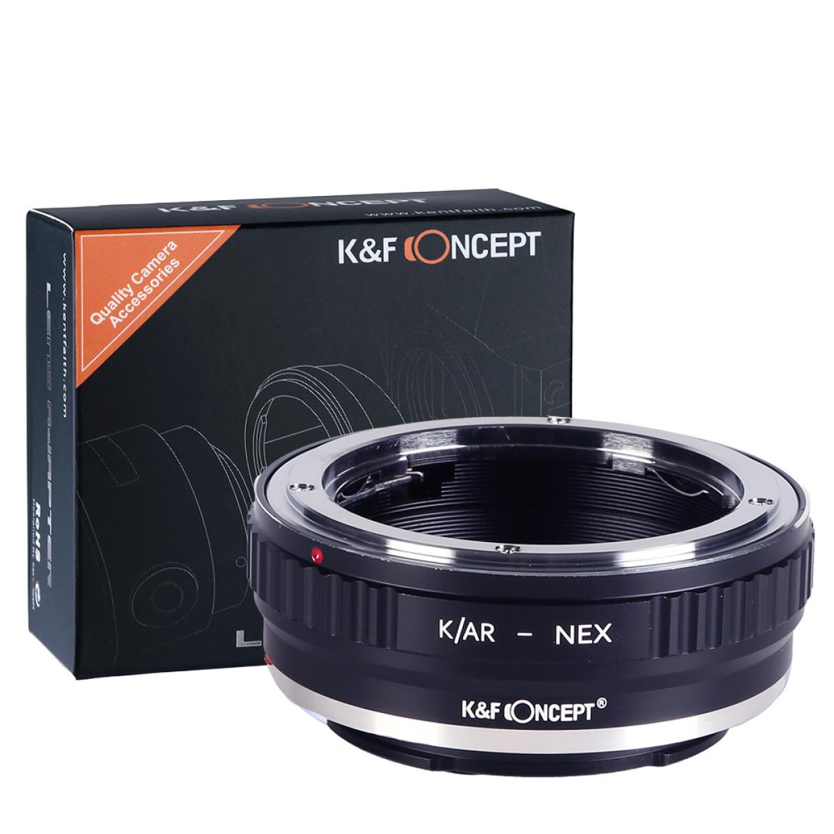 K&F M24101 Konica AR Lenses to Sony E Lens Mount Adapter