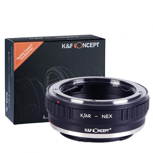 Konica AR Lenses to Sony E Mount Camera Adapter