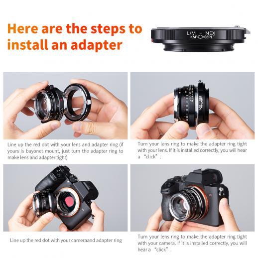 Leica M Lentes para Sony E Mount Câmera Adaptador