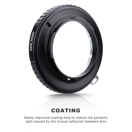 Leica M Lenses to M43 MFT Mount Camera Adapter