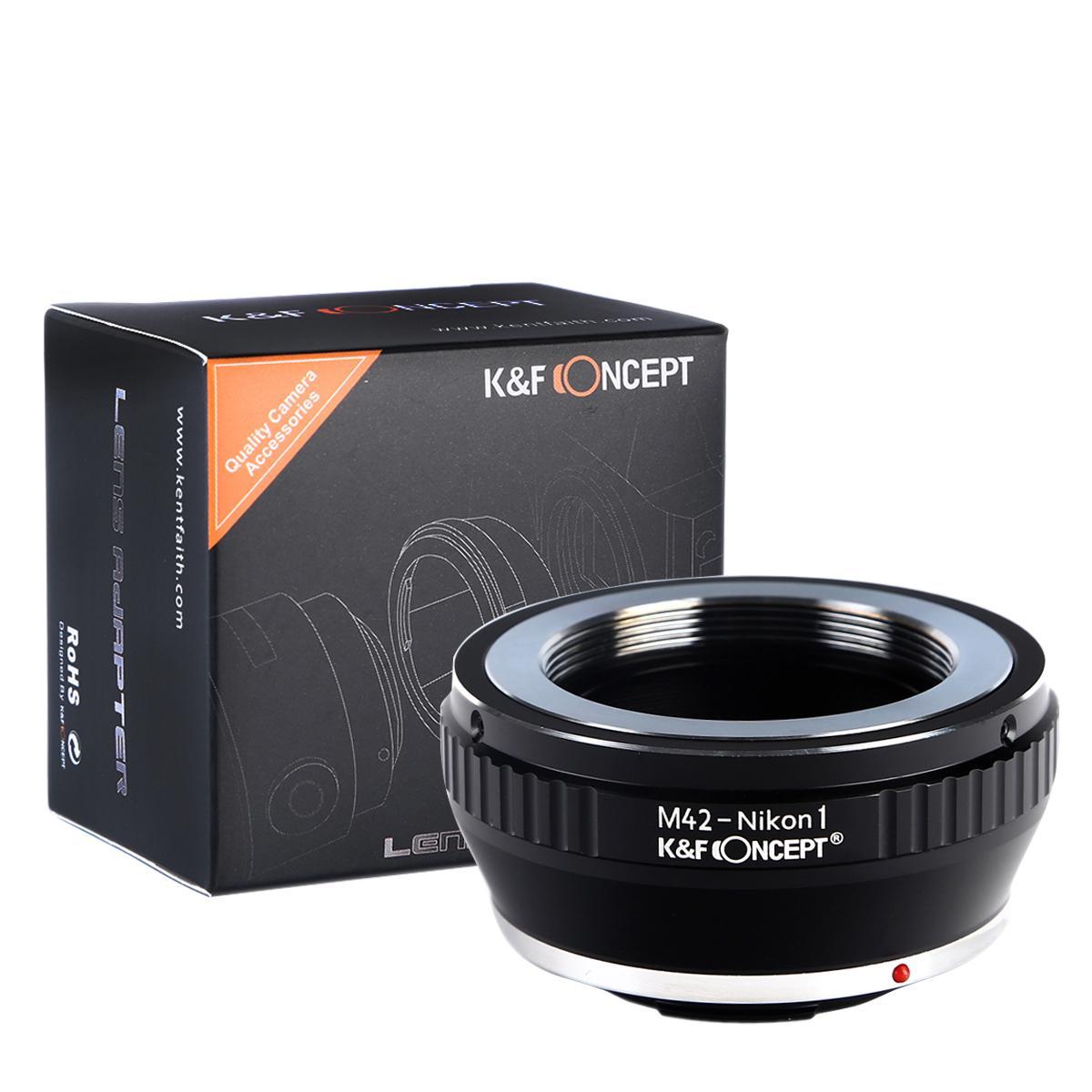 K&F M10201 M42 Lenses to Nikon 1 Lens Mount Adapter