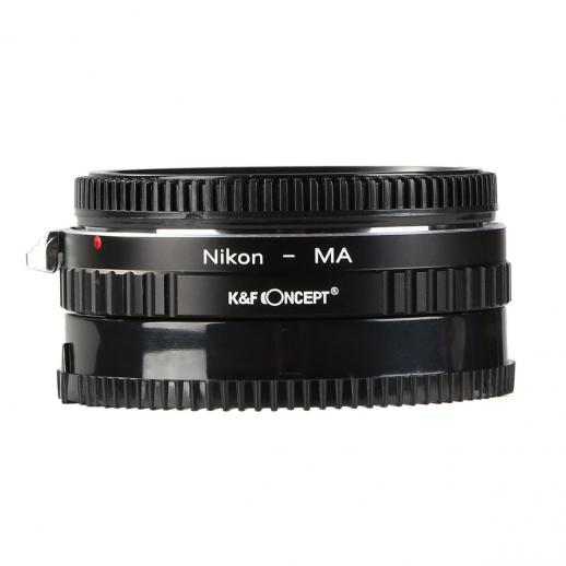 Nikon F Lenses to Sony A Mount Camera Adapter with Optic Glass
