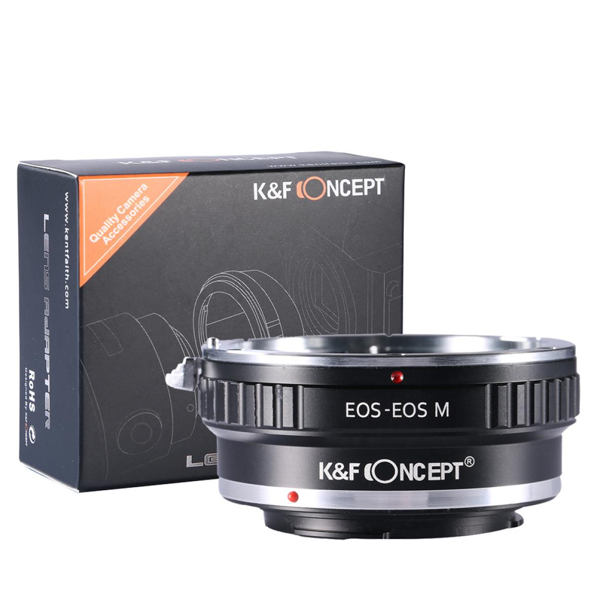K&F M12141 Canon EF Lenses to Canon EOS M Lens Mount Adapter
