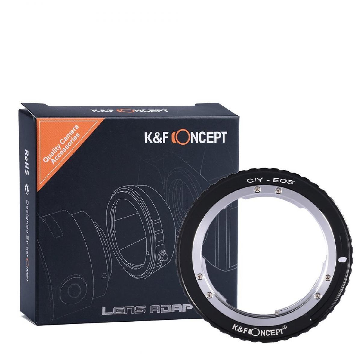 K&F M14131 Contax Yashica Lenses to Canon EF Lens Mount Adapter
