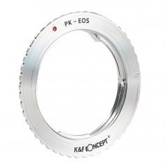 K&F M17131 Pentax K Lenses to Canon EOS Lens Mount Adapter For DSLR