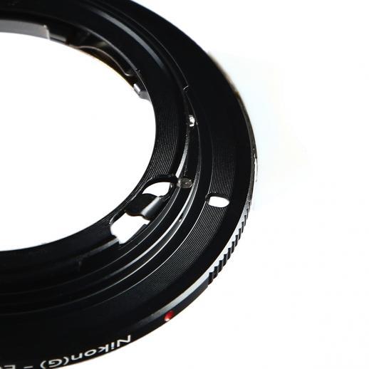 Nikon G Lenses to Canon EF Mount Camera Adapter