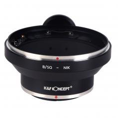 Adaptador Lentes Bronica SQ para corpo Nikon com montagem em tripé