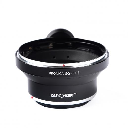 Bronica SQ Lenses to Canon EOS Camera Mount Adapter
