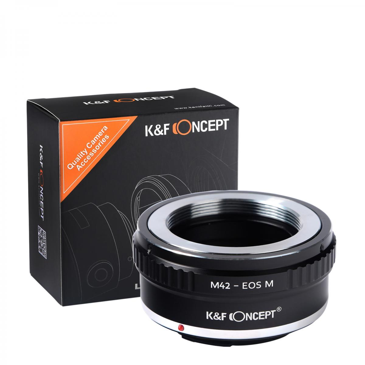 K&F M10141 M42 Lenses to Canon EOS M Lens Mount Adapter