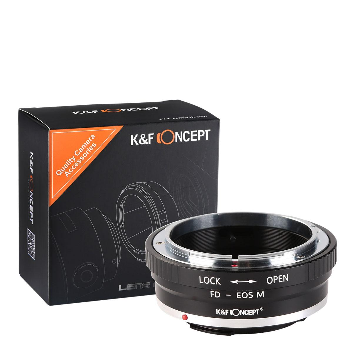 K&F M13141 Canon FD Lenses to Canon EOS M Lens Mount Adapter