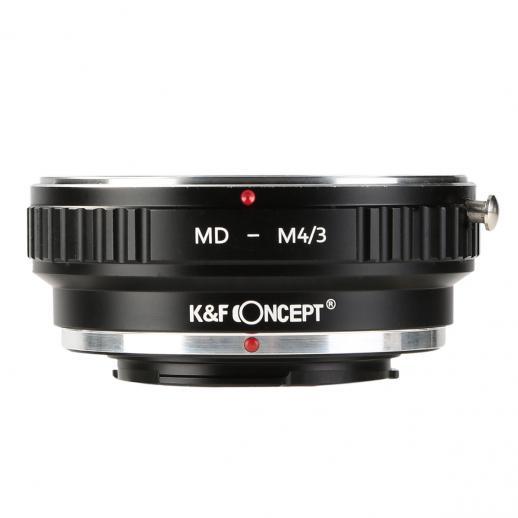 Minolta MD Lenses to M43 MFT Mount Camera Adapter