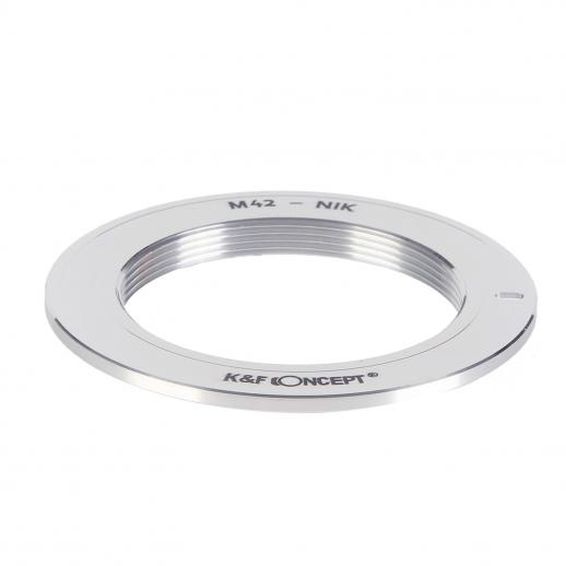 M42 Lenses to Nikon F Mount Camera Adapter