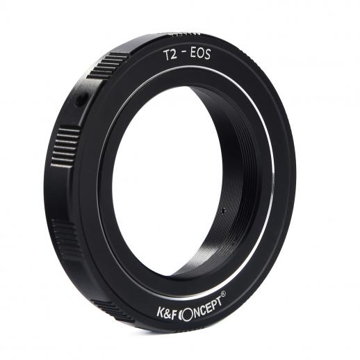 T2 Lenses to Canon EOS EF Mount Camera Adapter
