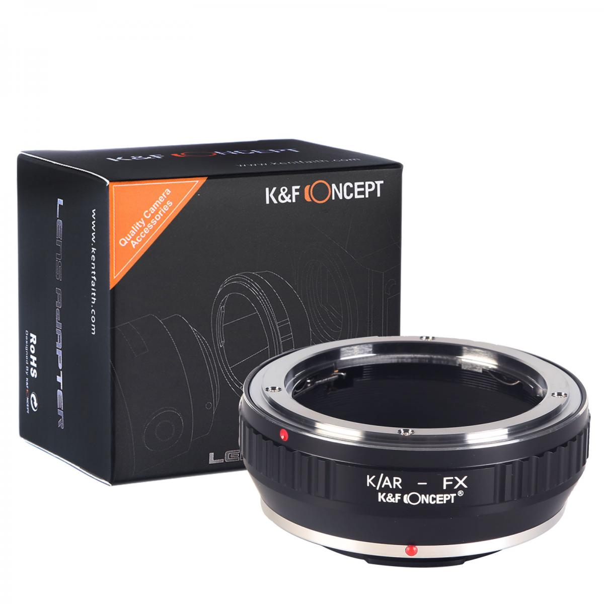 Konica AR Lenses to Fuji X Camera Mount Adapter