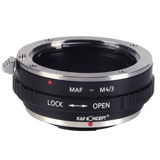 Minolta A / Sony A Lenses to M43 MFT Mount Camera Adapter