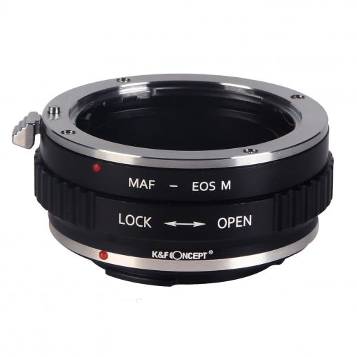 K&F M22141 Sony A Lenses to Canon EOS M Lens Mount Adapter