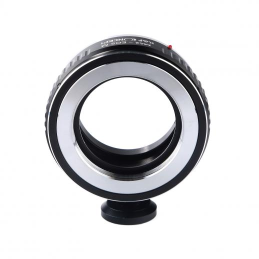 M42 Lenses to Canon EOS M Camera Mount Adapter with Tripod Mount