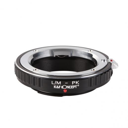 Adaptador Lentes Leica M para corpo Pentax K